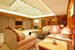 Living room of presidential suite Royalty Free Stock Photography