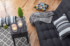 Living room for relaxation Stock Photo