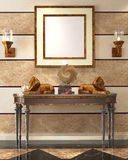 Living Room Render Stock Images