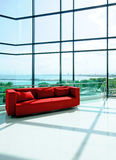 Living room sea background Stock Photography