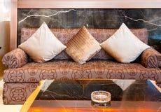 Living room sofa Stock Image