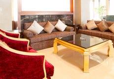 Living room sofa Royalty Free Stock Photography