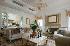 Living room sofa Royalty Free Stock Photo