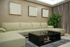 Living room sofa Stock Photos