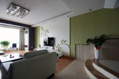 Living room sofa Royalty Free Stock Photos