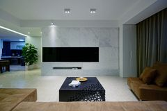 Living room sofa Stock Photo