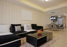 Living room sofa Royalty Free Stock Image