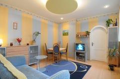 living room stylish Στοκ φωτογραφία με δικαίωμα ελεύθερης χρήσης
