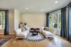 Living room in suburban home Stock Photo