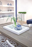 Living room table Royalty Free Stock Photography