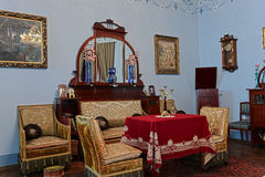 Living room of the 19th century Royalty Free Stock Photo