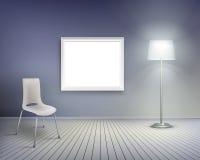 Living room. Vector illustration. Royalty Free Stock Photos