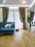 Living rooom. Apartment  living room interior design, furniture and decoration Stock Photo