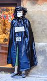Living sculpture in the costume of Casanova. Venice Royalty Free Stock Image