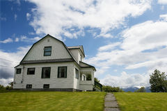 Living in Sitka, Alaska. A Home in Sitka, Alaska Stock Image