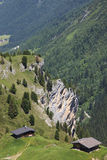 Living at the Sommerbergalm in Austrian Tyrol Royalty Free Stock Image
