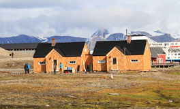 Spitsbergen: Two London Houses  Royalty Free Stock Image
