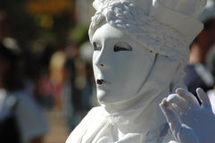 Living Statue Royalty Free Stock Photo