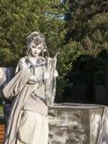 Living statue Stock Image