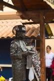 Living Statue in Banos, Ecuador Royalty Free Stock Image