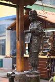 Living Statue in Banos, Ecuador Royalty Free Stock Photos