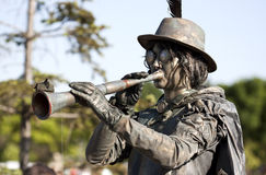 Living statue Stock Images