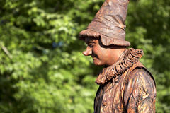 Living statue Royalty Free Stock Photos