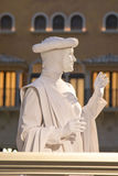 Living Statue at Grand Canal Shoppes in Venetian  Hotel and Casino in Las Vegas Royalty Free Stock Photo