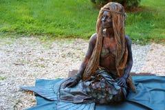 Living statue - mermaid Stock Image