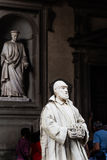 Living statue monk. Florence. Italy Royalty Free Stock Photography
