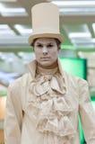 Living statue Stock Photos