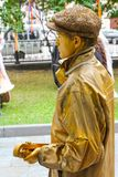 Living statues Stock Photo