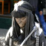 Living statues, street art Royalty Free Stock Photography
