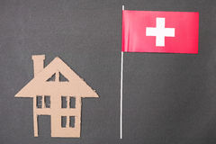 Living in Swiss Stock Photo