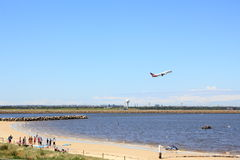 Living at Sydney airport Royalty Free Stock Images