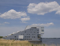 Living at the water. Living at the gooimeer in huizen, the netherlands Stock Photo