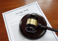 Living Will Stock Photography