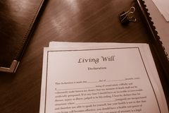 Living Will Royalty Free Stock Image
