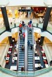 LivingIn ein Mall Stockbilder