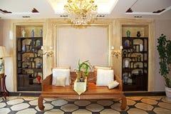 Livingroom. Classic residence livingroom China Guangzhou Stock Photos