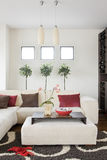 Livingroom Royalty Free Stock Photography
