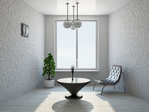Livingroom with chairs Royalty Free Stock Image