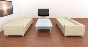 Livingroom Interior Royalty Free Stock Photography