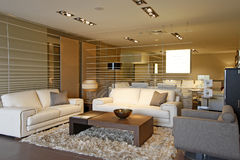 Livingroom interior Royalty Free Stock Photo
