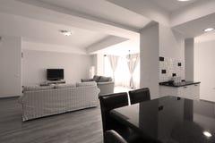 Livingroom open space Stock Image