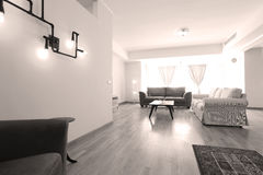 Livingroom open space Royalty Free Stock Photography