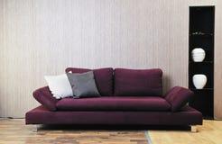 Livingroom sofa Royalty Free Stock Photo