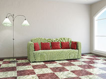 Livingroom  with sofa Stock Image