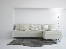 Livingroom with sofa Royalty Free Stock Photography