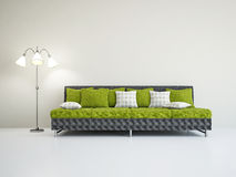 Livingroom with sofa Stock Photography